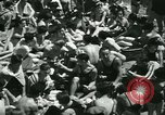 Image of crowded Long Island seashore New York United States USA, 1934, second 24 stock footage video 65675022423