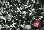 Image of crowded Long Island seashore New York United States USA, 1934, second 25 stock footage video 65675022423