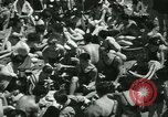 Image of crowded Long Island seashore New York United States USA, 1934, second 26 stock footage video 65675022423