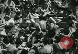 Image of crowded Long Island seashore New York United States USA, 1934, second 27 stock footage video 65675022423