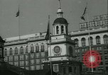 Image of Independence Day ceremony Philadelphia Pennsylvania USA, 1934, second 13 stock footage video 65675022431