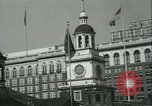 Image of Independence Day ceremony Philadelphia Pennsylvania USA, 1934, second 15 stock footage video 65675022431