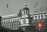 Image of Independence Day ceremony Philadelphia Pennsylvania USA, 1934, second 16 stock footage video 65675022431