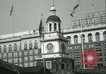 Image of Independence Day ceremony Philadelphia Pennsylvania USA, 1934, second 18 stock footage video 65675022431