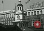 Image of Independence Day ceremony Philadelphia Pennsylvania USA, 1934, second 19 stock footage video 65675022431