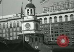 Image of Independence Day ceremony Philadelphia Pennsylvania USA, 1934, second 20 stock footage video 65675022431
