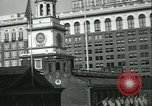 Image of Independence Day ceremony Philadelphia Pennsylvania USA, 1934, second 22 stock footage video 65675022431