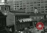 Image of Independence Day ceremony Philadelphia Pennsylvania USA, 1934, second 28 stock footage video 65675022431