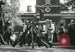 Image of Independence Day ceremony Philadelphia Pennsylvania USA, 1934, second 42 stock footage video 65675022431