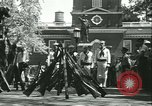 Image of Independence Day ceremony Philadelphia Pennsylvania USA, 1934, second 43 stock footage video 65675022431