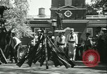 Image of Independence Day ceremony Philadelphia Pennsylvania USA, 1934, second 44 stock footage video 65675022431