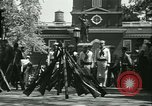 Image of Independence Day ceremony Philadelphia Pennsylvania USA, 1934, second 47 stock footage video 65675022431