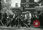 Image of Independence Day ceremony Philadelphia Pennsylvania USA, 1934, second 48 stock footage video 65675022431