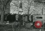 Image of Blessing of the hounds opens Fall Fox Hunt Lexington Kentucky USA, 1934, second 13 stock footage video 65675022434