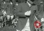 Image of Blessing of the hounds opens Fall Fox Hunt Lexington Kentucky USA, 1934, second 15 stock footage video 65675022434