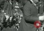 Image of Blessing of the hounds opens Fall Fox Hunt Lexington Kentucky USA, 1934, second 16 stock footage video 65675022434