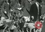 Image of Blessing of the hounds opens Fall Fox Hunt Lexington Kentucky USA, 1934, second 18 stock footage video 65675022434