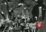 Image of Blessing of the hounds opens Fall Fox Hunt Lexington Kentucky USA, 1934, second 19 stock footage video 65675022434