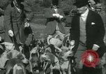Image of Blessing of the hounds opens Fall Fox Hunt Lexington Kentucky USA, 1934, second 20 stock footage video 65675022434