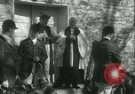 Image of Blessing of the hounds opens Fall Fox Hunt Lexington Kentucky USA, 1934, second 22 stock footage video 65675022434