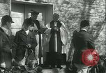 Image of Blessing of the hounds opens Fall Fox Hunt Lexington Kentucky USA, 1934, second 23 stock footage video 65675022434