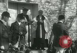 Image of Blessing of the hounds opens Fall Fox Hunt Lexington Kentucky USA, 1934, second 25 stock footage video 65675022434