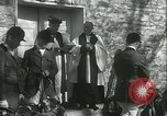 Image of Blessing of the hounds opens Fall Fox Hunt Lexington Kentucky USA, 1934, second 26 stock footage video 65675022434