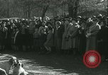Image of Blessing of the hounds opens Fall Fox Hunt Lexington Kentucky USA, 1934, second 30 stock footage video 65675022434