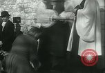 Image of Blessing of the hounds opens Fall Fox Hunt Lexington Kentucky USA, 1934, second 34 stock footage video 65675022434