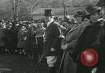 Image of Blessing of the hounds opens Fall Fox Hunt Lexington Kentucky USA, 1934, second 38 stock footage video 65675022434