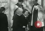 Image of Blessing of the hounds opens Fall Fox Hunt Lexington Kentucky USA, 1934, second 44 stock footage video 65675022434