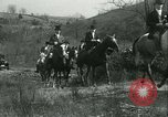 Image of Blessing of the hounds opens Fall Fox Hunt Lexington Kentucky USA, 1934, second 52 stock footage video 65675022434