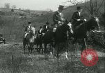 Image of Blessing of the hounds opens Fall Fox Hunt Lexington Kentucky USA, 1934, second 54 stock footage video 65675022434