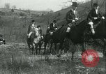 Image of Blessing of the hounds opens Fall Fox Hunt Lexington Kentucky USA, 1934, second 55 stock footage video 65675022434