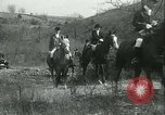 Image of Blessing of the hounds opens Fall Fox Hunt Lexington Kentucky USA, 1934, second 56 stock footage video 65675022434
