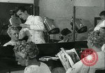 Image of Hairstylist Fernand Paris France, 1934, second 23 stock footage video 65675022435