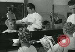 Image of Hairstylist Fernand Paris France, 1934, second 25 stock footage video 65675022435