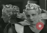 Image of Hairstylist Fernand Paris France, 1934, second 46 stock footage video 65675022435
