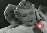 Image of Hairstylist Fernand Paris France, 1934, second 58 stock footage video 65675022435