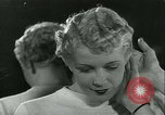 Image of Hairstylist Fernand Paris France, 1934, second 62 stock footage video 65675022435