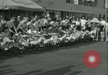 Image of mechanical hobby-horse race Santa Monica California USA, 1934, second 7 stock footage video 65675022442