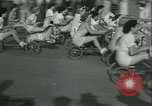 Image of mechanical hobby-horse race Santa Monica California USA, 1934, second 12 stock footage video 65675022442