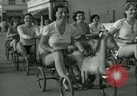 Image of mechanical hobby-horse race Santa Monica California USA, 1934, second 25 stock footage video 65675022442