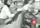 Image of mechanical hobby-horse race Santa Monica California USA, 1934, second 29 stock footage video 65675022442