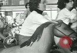 Image of mechanical hobby-horse race Santa Monica California USA, 1934, second 30 stock footage video 65675022442