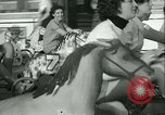 Image of mechanical hobby-horse race Santa Monica California USA, 1934, second 31 stock footage video 65675022442