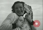 Image of mechanical hobby-horse race Santa Monica California USA, 1934, second 42 stock footage video 65675022442