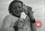 Image of mechanical hobby-horse race Santa Monica California USA, 1934, second 45 stock footage video 65675022442