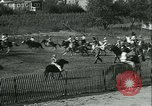 Image of Young children riding horses Kansas City Missouri USA, 1934, second 15 stock footage video 65675022443