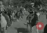 Image of Young children riding horses Kansas City Missouri USA, 1934, second 17 stock footage video 65675022443